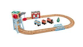 Fisher-Price Thomas & Friends Wood Snowy Rails Set - English Edition