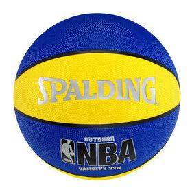 Spalding NBA Varsity Basketball Size 5 - Blue/Yellow