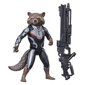 Marvel Avengers: Endgame Titan Hero Series Rocket Raccoon with Titan Hero Power FX Port