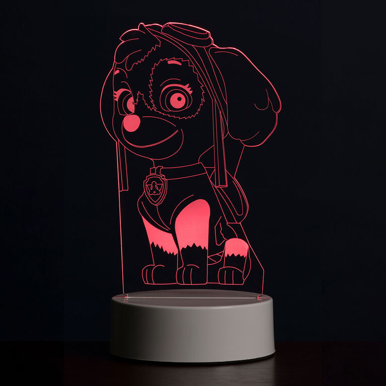 PAW Patrol 3D LED Night Light Skye