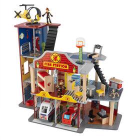 KidKraft - Deluxe Fire Rescue Set