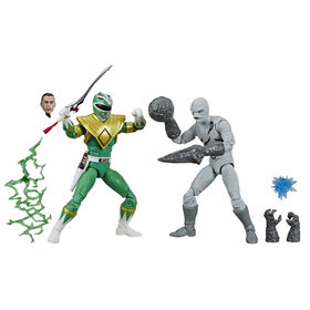 Power Rangers Lightning Collection - Ranger vert Fighting Spirit et Putty Mighty Morphin