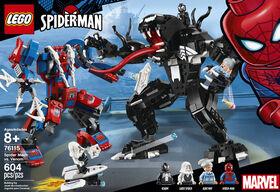 LEGO Super Heroes Le robot de Spider-Man contre Venom 76115