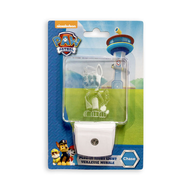 PAW Patrol Plug-in Nightlight - Chase