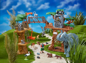 Animal Planet New Safari Treehouse Playset