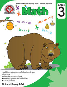 Grade 3 Math Workbook