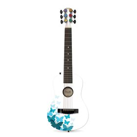 """First Act White Butterfly 30"""" Acoustic Guitar"""