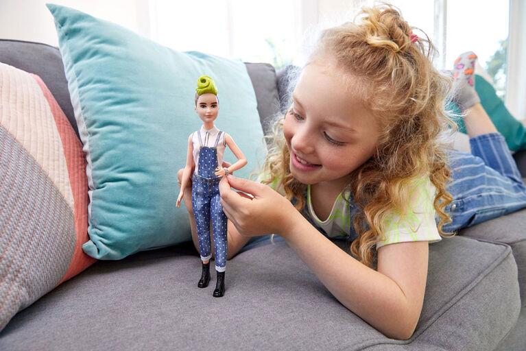 Barbie Fashionistas Doll #124 - Green Mohawk