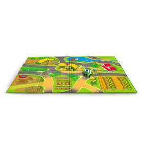 JOHN DEERE John Deere Country Lanes Playmat & Vehicle