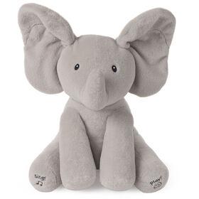 Baby GUND Animated Flappy the Elephant Stuffed Animal Plush, Gray, 12 inch