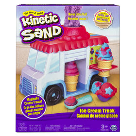 Kinetic Sand – Ice Cream Truck with 8oz of Kinetic Sand