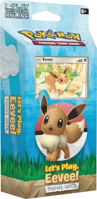 Pokemon Let's Play, Eevee! Theme Deck