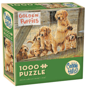Spring 1000 Piece Puzzle - Dogs