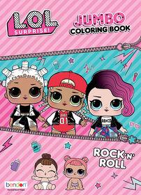 L.O.L. Surprise! 64pg Jumbo Colourng Book