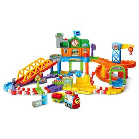 VTech Go! Go! Smart Wheels Roadmaster Train Set - English Edition