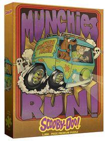 "Scooby Doo ""Munchies Run"" 1000 Piece Puzzle"