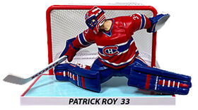 "Patrick Roy Montreal Canadiens 6"" NHL Figure with Net"