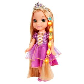Disney Princess - Glow 'N Style Rapunzel Doll - Rapunzel