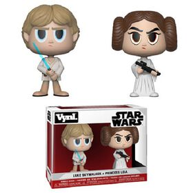 Funko Vynl! Movies: Star Wars - Luke Skywalker & Princess Leia Vinyl Figure
