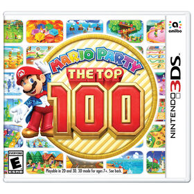 Nintendo 3DS - Mario Party: The Top 100