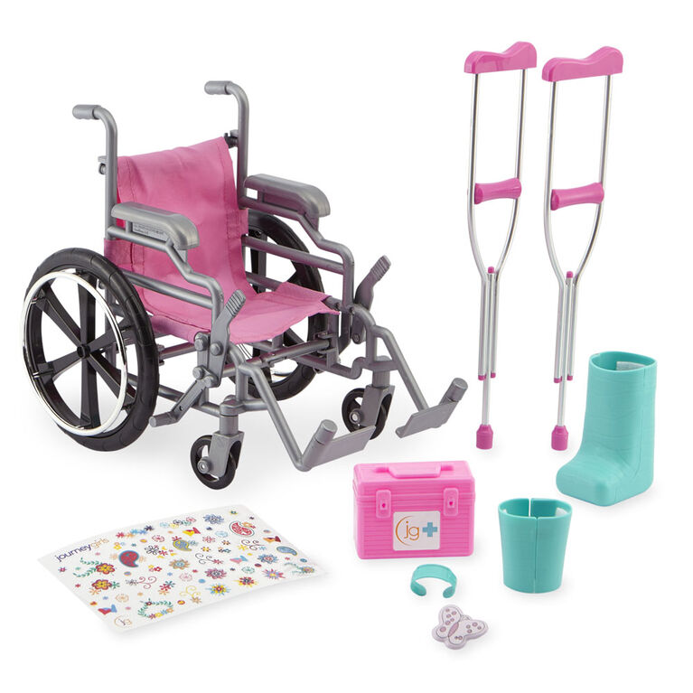 Journey Girls - Wheelchair & Crutch Set