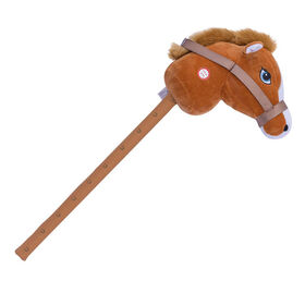 Pitter Patter Pets Giddy Up Hobby Horse Brown Horse