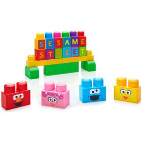 Mega Bloks - Sesame Street Let's Build Sesame Street Building Set - English Edition