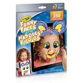 Colour Alive Funny Faces Zany Zoo