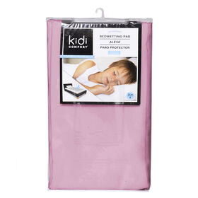 Kidicomfort Washable and Waterproof 3 layers Toddler Pad 60 X 30 - Pink