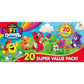 Cra-Z-Art - SofteeDough - 20 Dough Super Value Pack