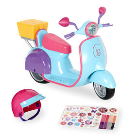 Journey Girls Adventure Scooter - Blue/Pink