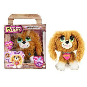 Rescue Runts! Spaniel Plush Dog (Brown/White)