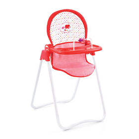 Chaise haute à Poupée Fine Bouche Little Mommy - R Exclusif