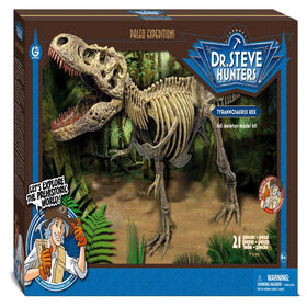 Dr. Steve Hunters - T. Rex Replica Model Skeleton 1:15 scale - 30 inch
