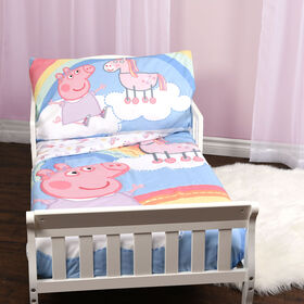 Peppa Pig 3-Piece Toddler Bedding Set