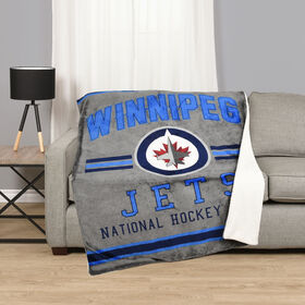 NHL Team Throw - Winnipeg Jets