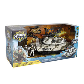 Soldier Force Tundra Patrol Tank Playset - R Exclusive