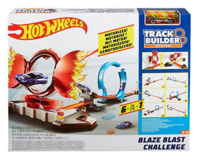 Hot Wheels Track Builder Bullseye Blaze Challenge - R Exclusive