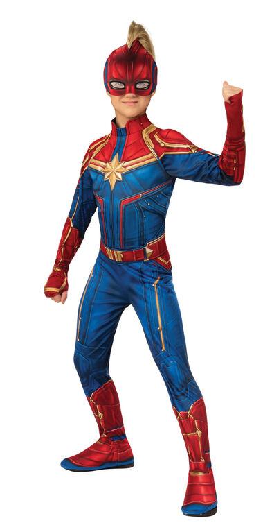 Captain Marvel Costume - Medium 8-10