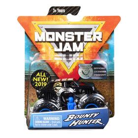 Monster Jam, Official Bounty Hunter Monster Truck, Arena Favorites Series, 1:64 Scale