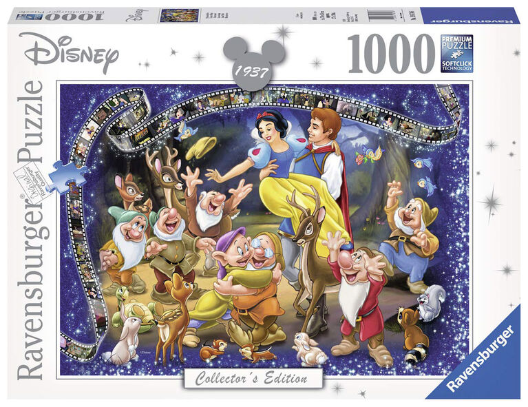 Ravensburger! Disney - Snow White Collector's Edition Jigsaw Puzzle - 1000 Piece