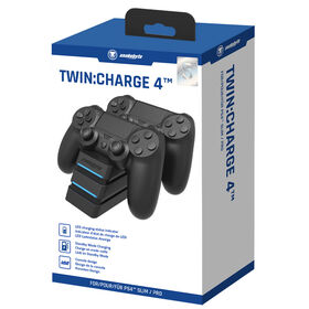 PlayStation 4 snakebyte Twin:Charge 4 Black