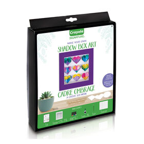 Crayola Signature DIY Shadow Box Craft Kit