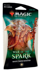 "Magic the Gathering ""War of the Spark"" Theme Booster"