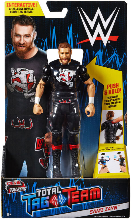 WWE Tough Talkers Tag Team Sami Zayn Figure