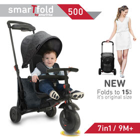 smarTfold 500 Melange 7-in-1 Trike Classic Grey - R Exclusive