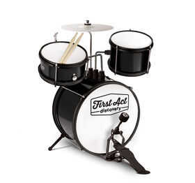 Black Drum Set