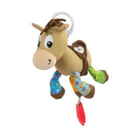 Lamaze Disney Pixar Toy Story Clip & Go – Bullseye Baby Toy