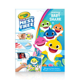 Color Wonder Kit, Baby Shark
