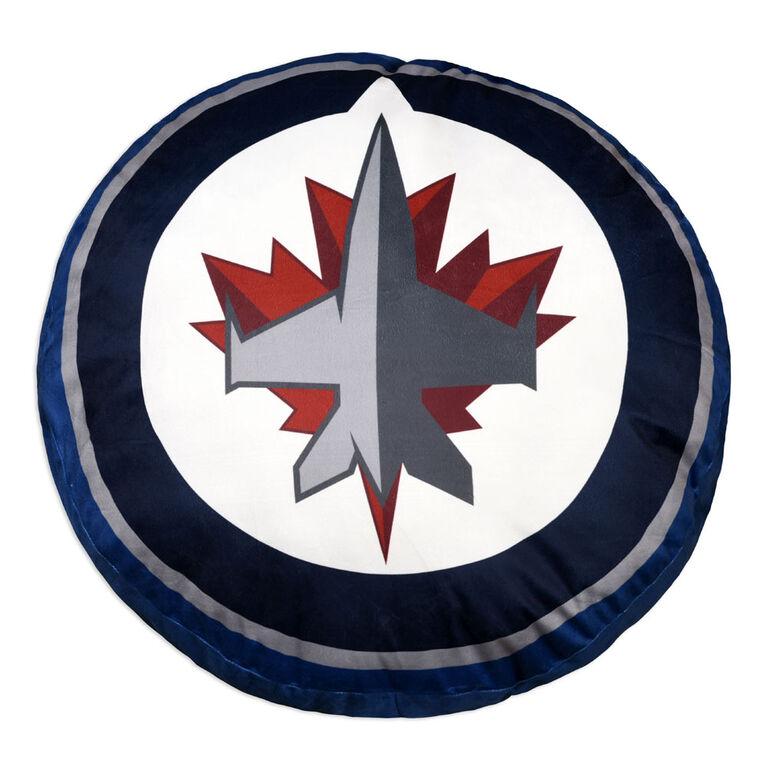 NHL Logo Cushion- Winnipeg Jets